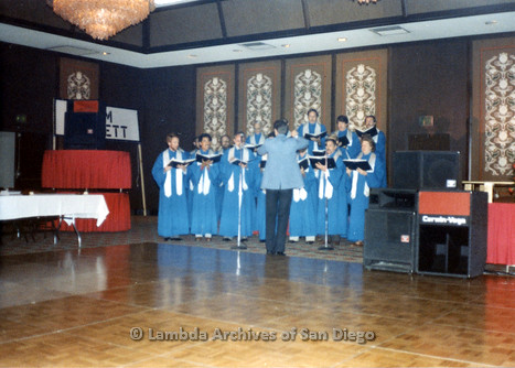1983 - Imperial Court de San Diego Coronation Ball: Entertainment at Coronation.