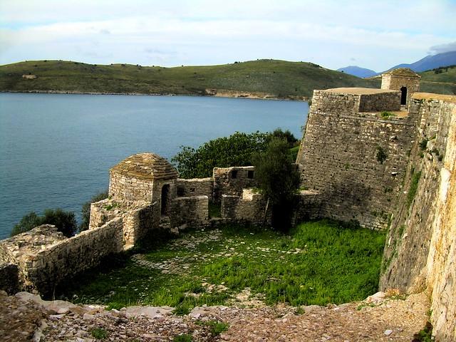 Kalaja e Ali Pashës në Porto Palermo by bryandkeith on flickr