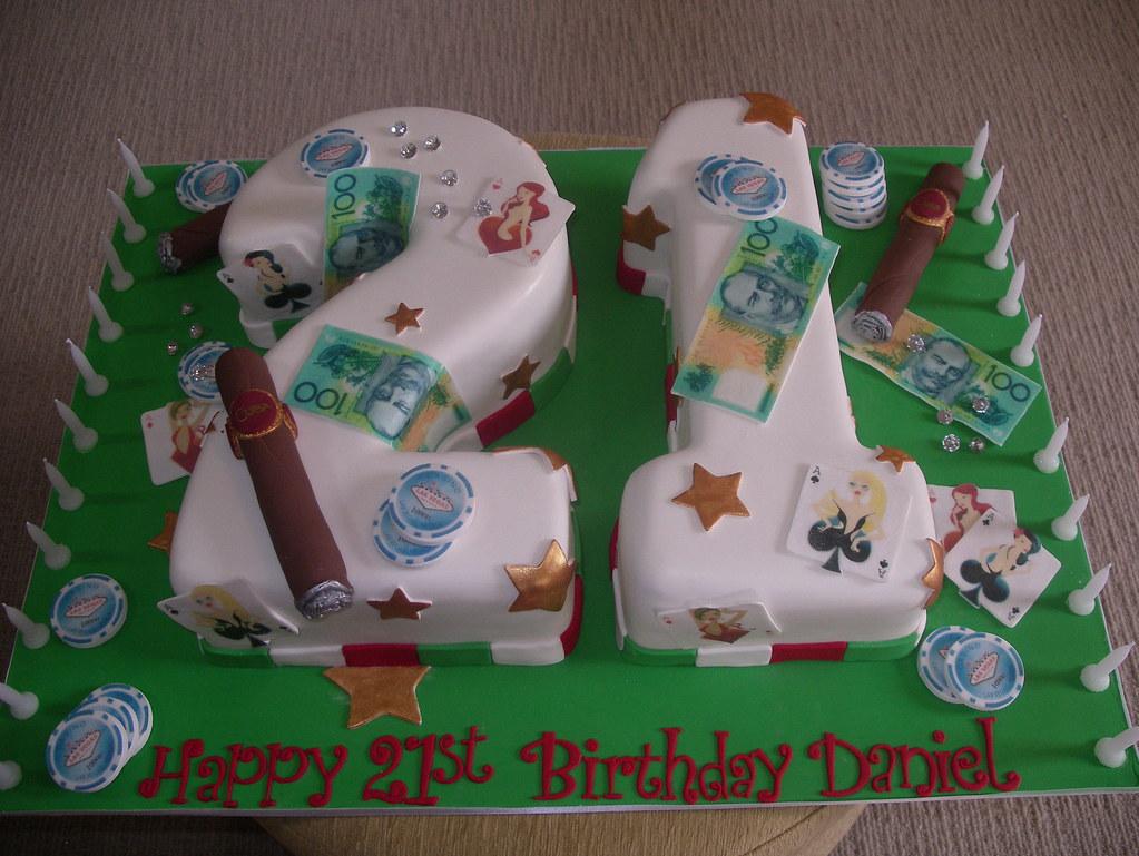High Roller Boys 21st Birthday Cake Angela S Whimsical Cakes Flickr