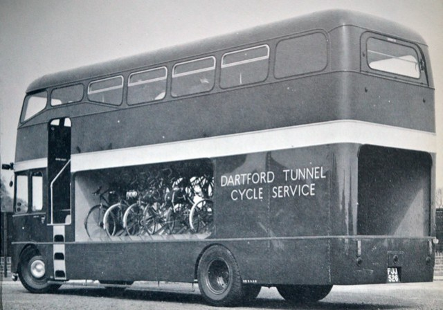 Ford Trader Dartford Tunnel Cycle Bus