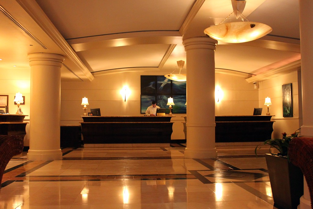 Hotel Front Desk Lobby Intercontinental Resort Isla