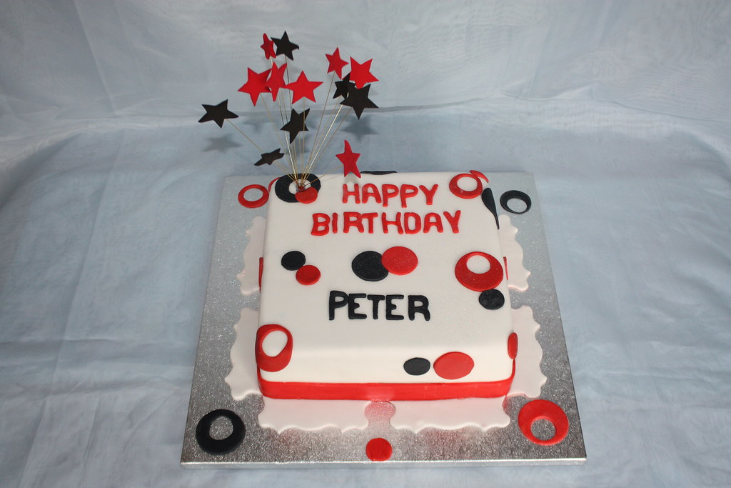 Peter S Birthday Cake No It S Not Mine An Icedjems Creat Flickr