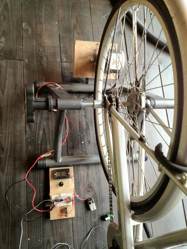 Pedal Powered Generator