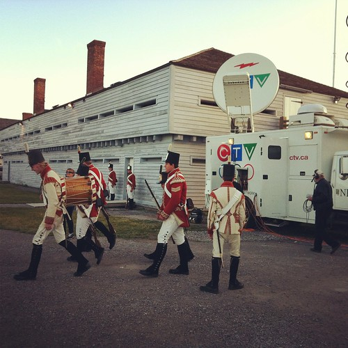 Canada AM at Fort George National Historic Site of Canada