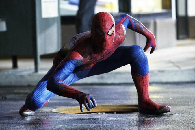 The Amazing Spider-man movie still