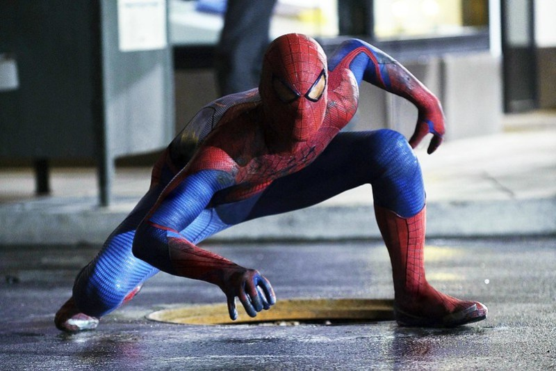 The Amazing Spider-man movie still