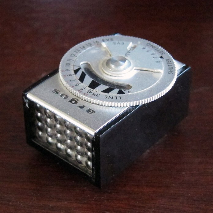 LC-3 light meter for Argus Matchmatic C3