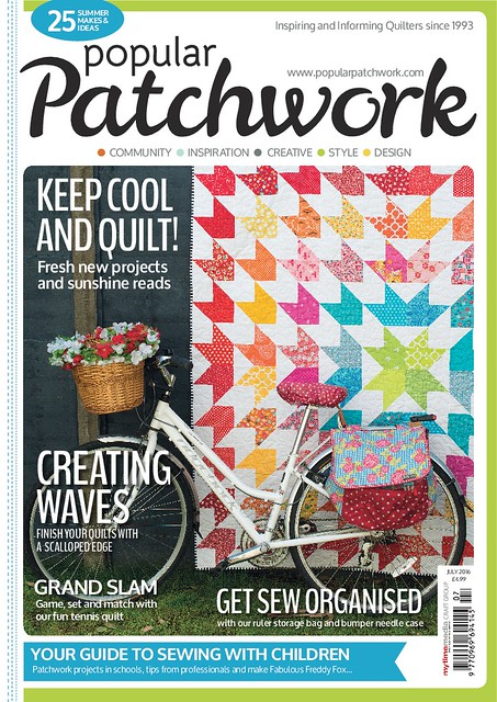Popular Patchwork cover.July