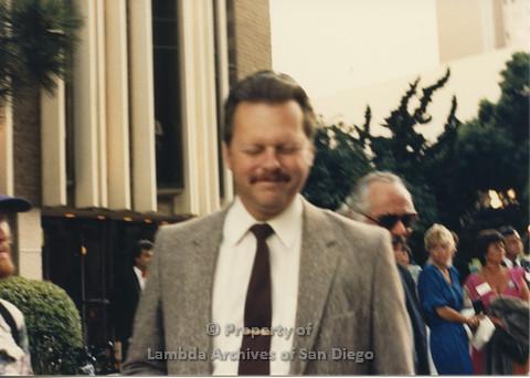P024.090m.r.t Myth California Protest, San Diego, June 1986: Jerry Sanders
