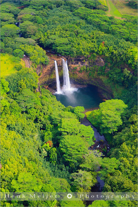 Wailua Falls From The Air Kauai Hawaii I Never