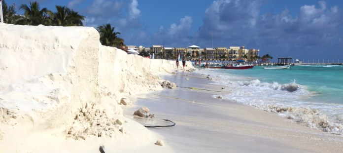 Beach in Playa del Carmen