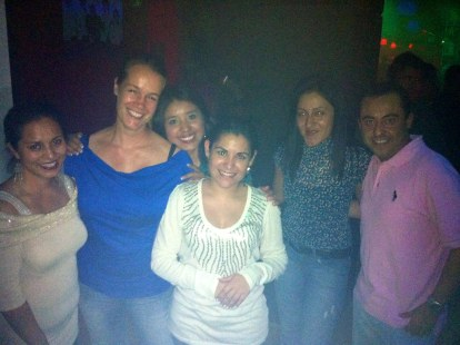 Diana, Claudia and friends