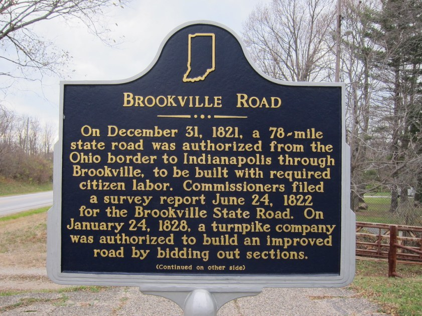 Abandoned Brookville Road