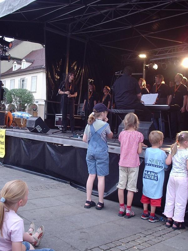 Abensterne Marktplatzfest 2004 002