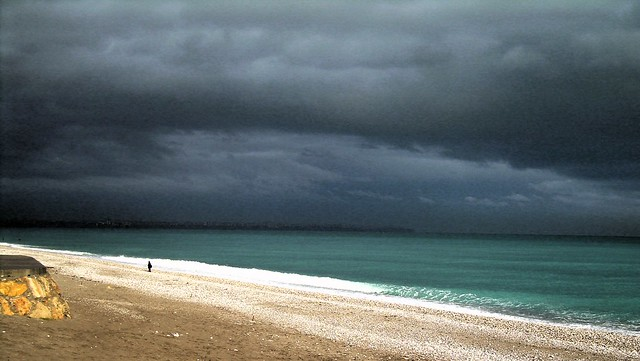 Leaving Antalya on a stormy day by bryandkeith on flickr