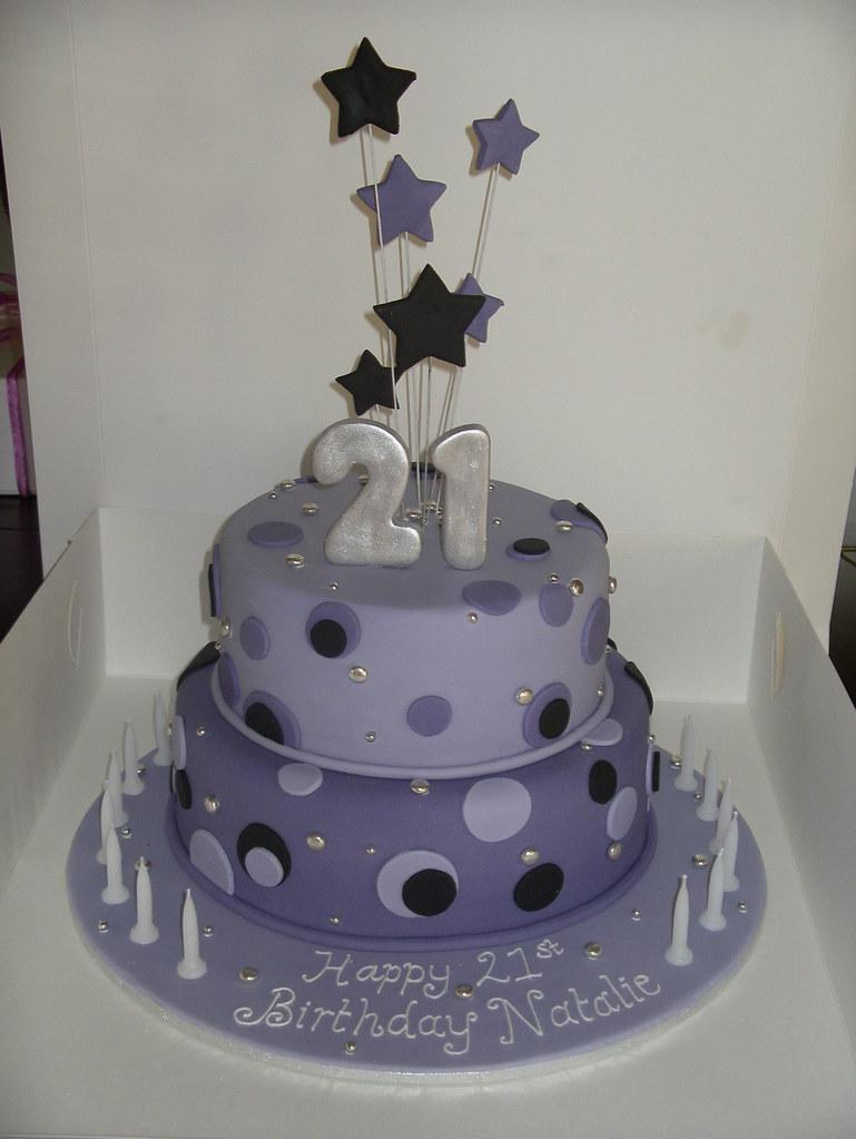 Girls 21st Birthday Cake Angela S Passion Cakes Flickr