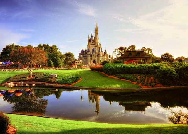 Morning Light on the Magic Kingdom