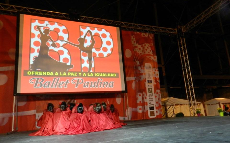 Ballet Paulina Gala Apertura V Feria Abril Las Palmas de Gran Canaria 2012