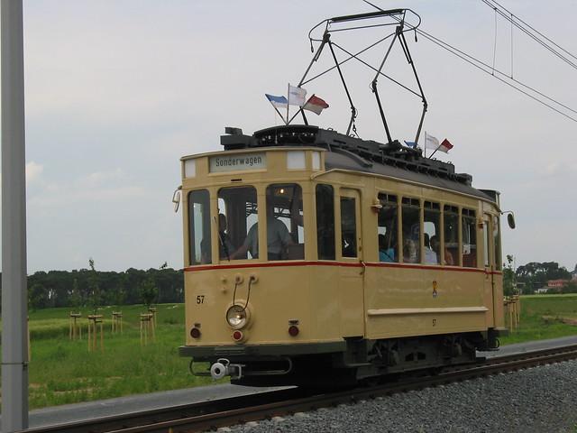 """Tram """"ST 3-Triebwagen 57"""""""