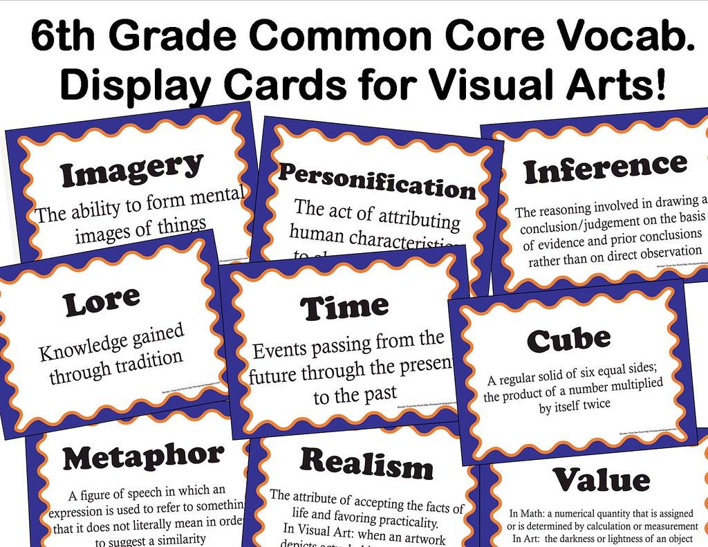 6th Grade Common Core Advert