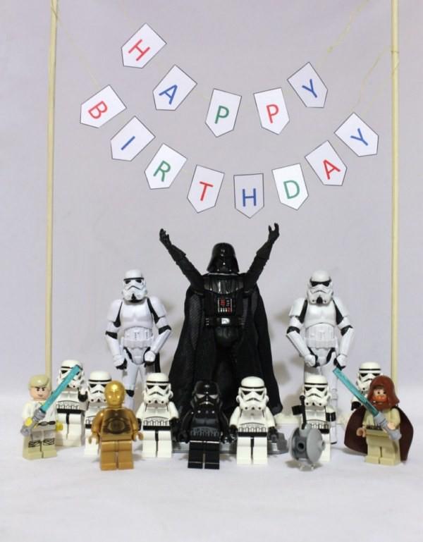 Star Wars Happy Birthday Want To Do Something Similar The Flickr
