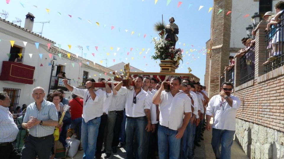 Periana procesión San Isidro Labrador 2012 05