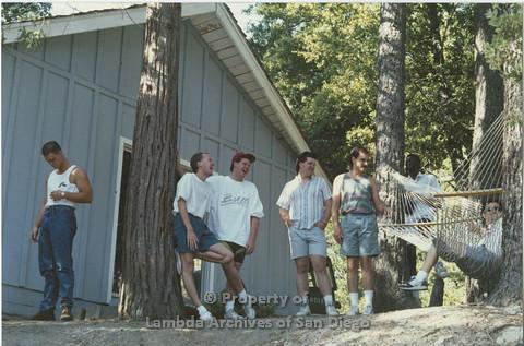 1990 - San Diego AIDS Foundation: Staff Camping Retreat.