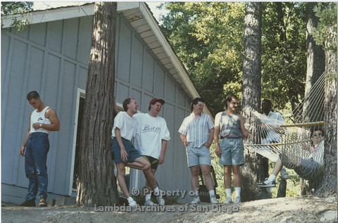 1990 - San Diego AIDS Foundation: Staff Camping Retreat.