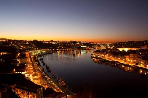 Porto desde puente