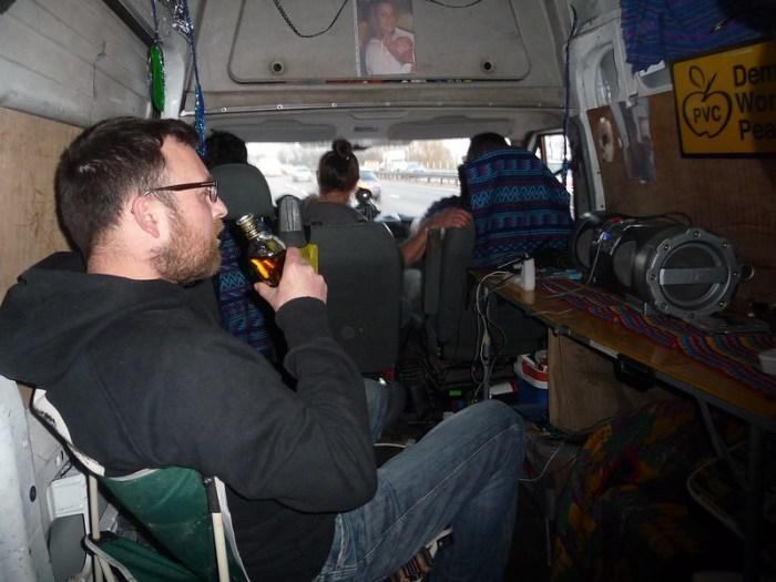 Jura Whiskey in the Master Chaos Van