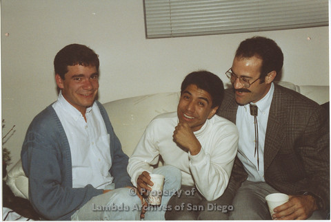 P001.030m.r X-mas 1990: 3 men laughing