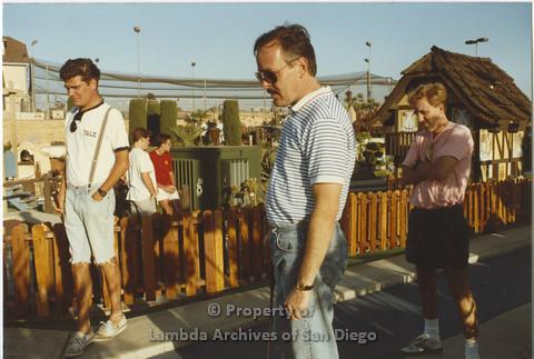 AIDS Foundation of San Diego: Miniature Golf - 1990, Recreational Activity.