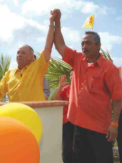 Gov. Gutierrez and Sen. BJ Cruz