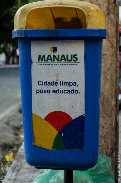 Clean city, educated citizen