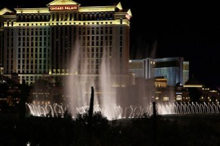 Fountains infront of Bellagio