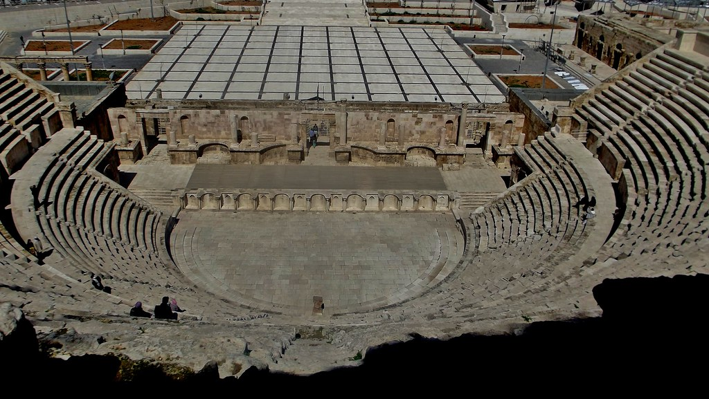 Roman Theatre in Amman, Jordan - March 2012