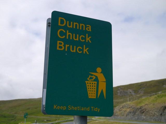 Shetland dialect