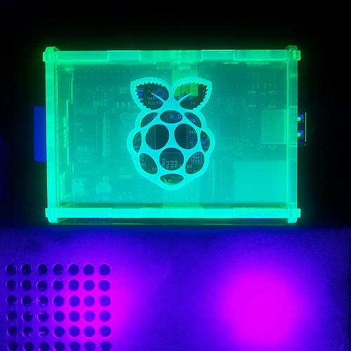 Fluorescent Black Lighting