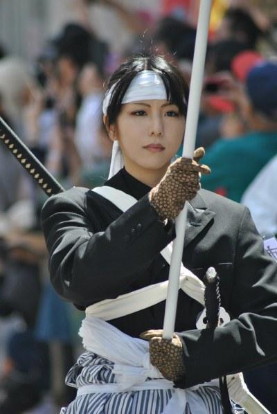 Samurai Girl Standard Bearer