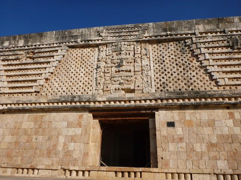 Mayan Temple, Uxmal, Yucatan