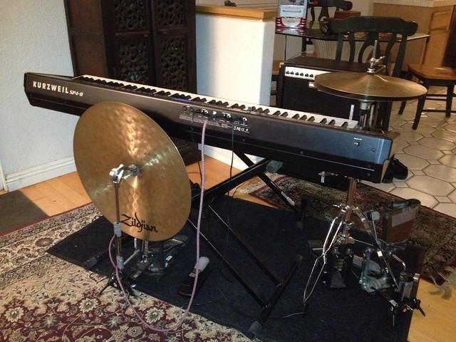 Setup: One Man Jazz Trio