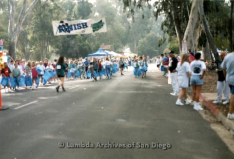 P197.037m.r.t AIDS Walk San Diego 1996: Finish line