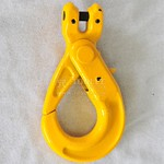 1208-Safety Hook Clevis Type With Self-Locking Latch G80 New Style