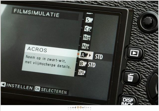 De film simulaties van Fujifilm op een rijtje. Dit zijn de opties van de X-Pro2. Het resultaat zie je alleen als je in JPEG fotografeert.