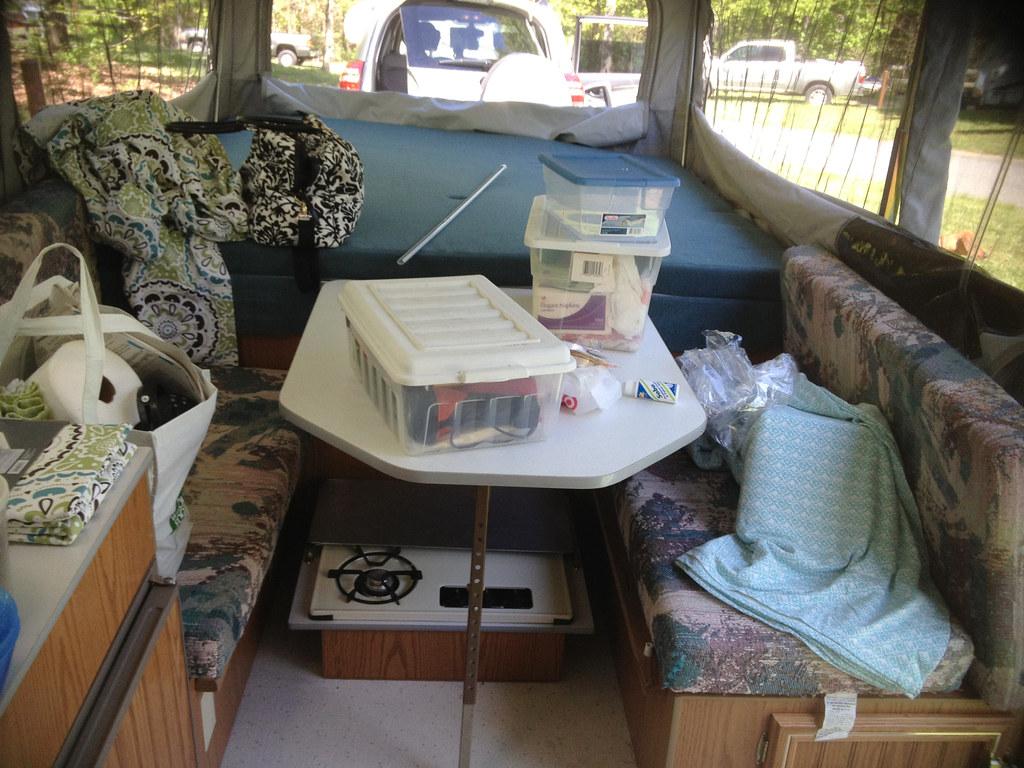 Camper Before Pop Up Camper Remodel Diy Del Ray Flickr