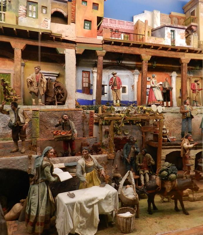 Belén Napolitano Siglo XVIII Museo Nacional Esculturas Palacio Villena Valladolid 06