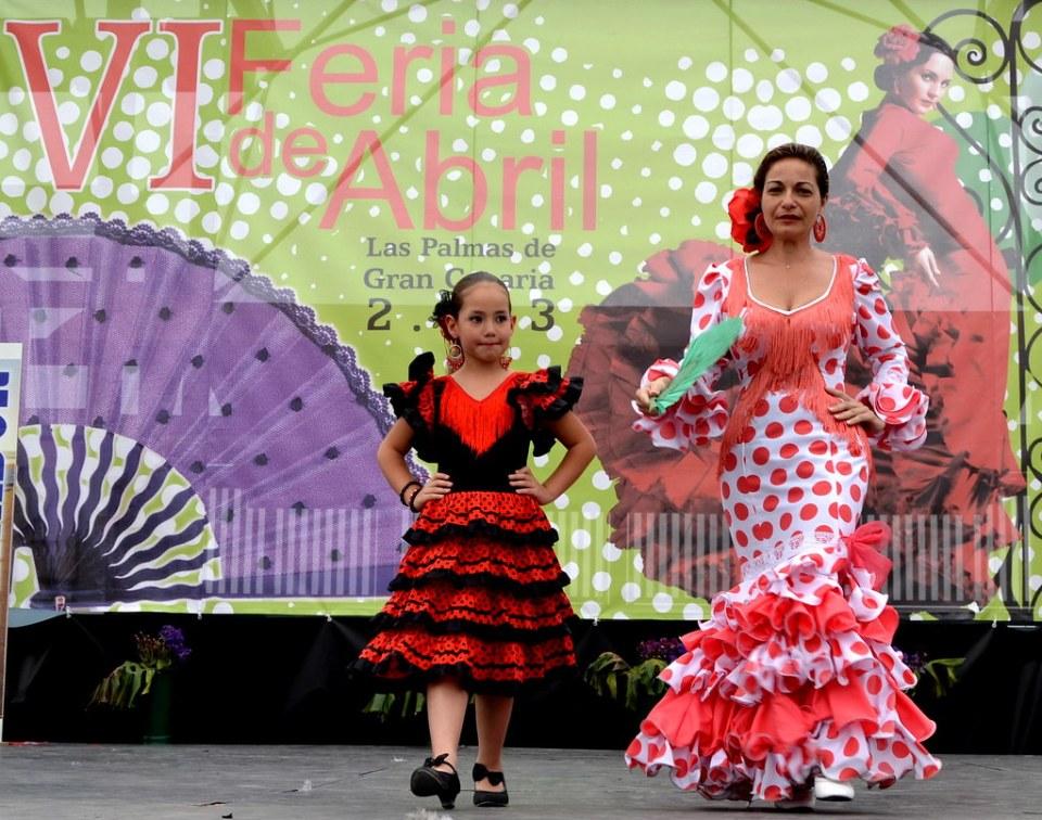 Claudia y Lima Pasarela Andaluza VI Feria Abril 2013 Las Palmas de Gran Canaria DSC_0216