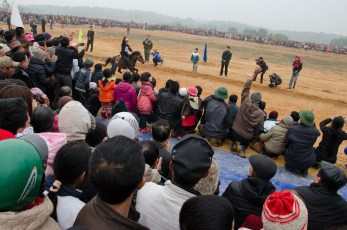 Horse Race Hmong People