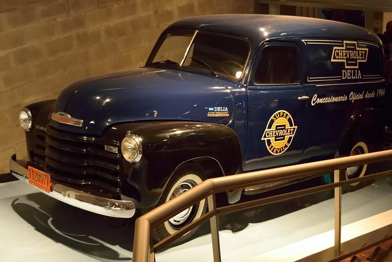 "Chevrolet 1947. Plotter ""Super Service"""