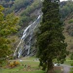 Irlanda, Condado de Wicklow, Powerscourt Waterfall 01